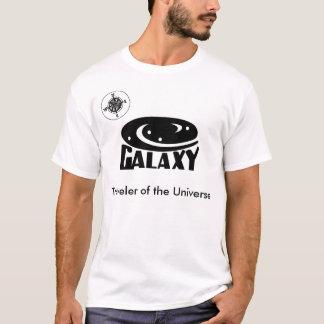 Galaxie-Reisender des Universum-T - Shirt