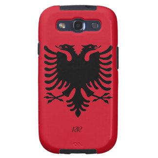 Galaxie S3 Republik- Albanienflaggen-Eagles Samsun Galaxy S3 Schutzhüllen