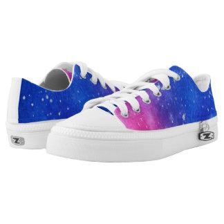 Galaxie-Spritzer-Schuhe Niedrig-geschnittene Sneaker