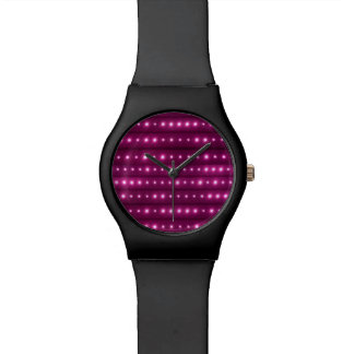 Galaxie Stripes Muster Uhr