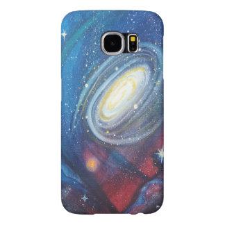 Galaxie-Telefon-Kasten