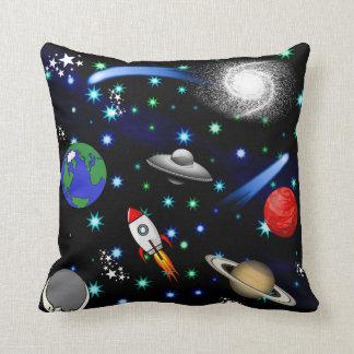 Galaxie-Universum - Planeten, Sterne, Kometen, Kissen