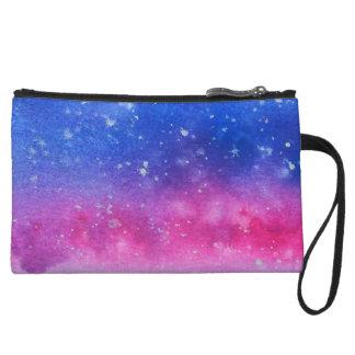 Galaxie-Wasserfarbe Wristlet