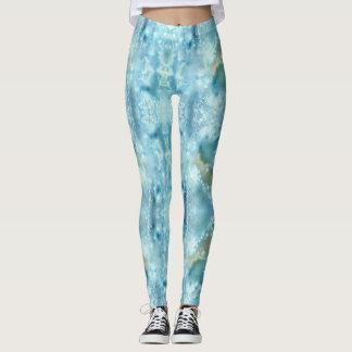 Galaxieblau-Aquarell Leggings