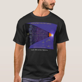 Galaxieillustration der NASAs erste, T-Shirt