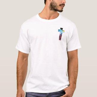 Galaxiequertaschenentwurf T-Shirt