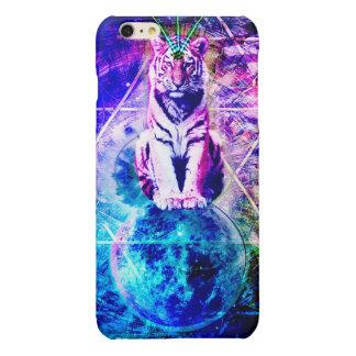 Galaxietiger - rosa Tiger - 3d Tiger - Laser-Tiger
