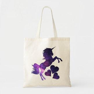 Galaxieunicorn-Liebe-Taschen-Tasche Tragetasche