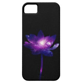 Galaxy Lotus Flower - black iPhone 5 Case