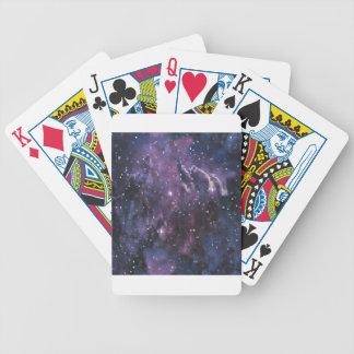 galaxy pixels bicycle spielkarten