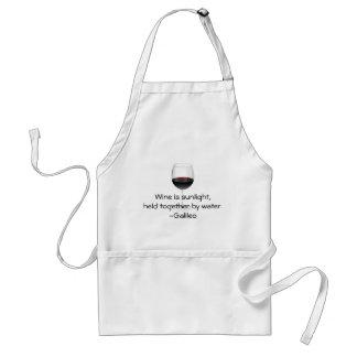 Galileo-Wein-Zitat Schürzen
