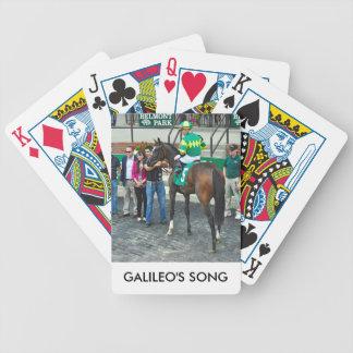 Galileos Lied Bicycle Spielkarten