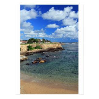 Galle-Fort und der Indische Ozean Sri Lanka Postkarte