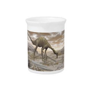 Gallimimus Dinosaurier - 3D übertragen Getränke Pitcher