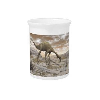 Gallimimus Dinosaurier - 3D übertragen Krug
