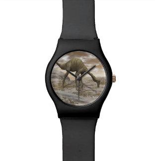 Gallimimus Dinosaurier - 3D übertragen Uhr