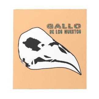 Gallo De Los Muertos Notizblock