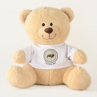 Galoppierender Bison Teddy