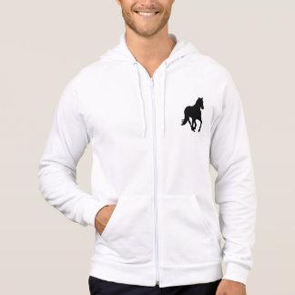Galoppierendes Pferd Hoodie