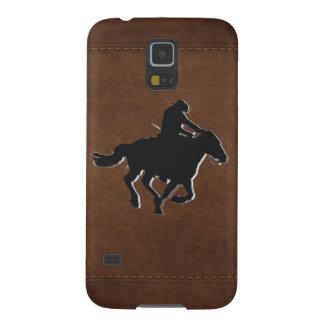 Galoppierendes Pferd nach westlichem Vorbild und Galaxy S5 Hülle