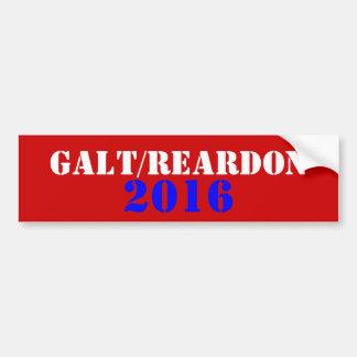 Galt Reardon 2016 Autoaufkleber