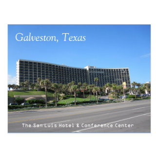 Galveston, Texas-Postkarte Postkarte