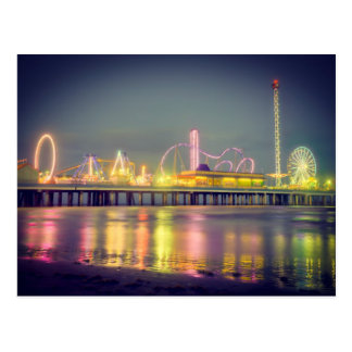 Galveston Vergnügens-Pier Postkarte
