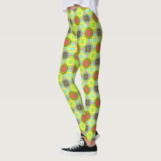 Gamaschen geometrisches #318 bunt leggings