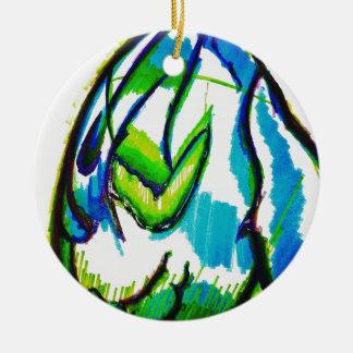 Gamasiluria durch Helle Keramik Ornament