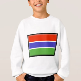 Gambia-Flagge Sweatshirt