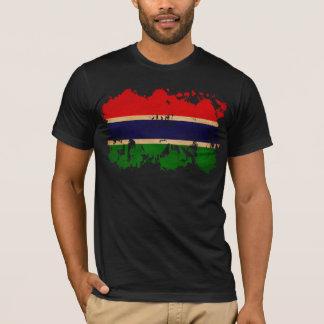 Gambia-Flagge T-Shirt