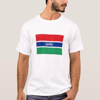 Gambia-Flaggenandenkent-shirt T-Shirt
