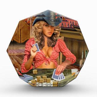 Gamblin Cowgirl Auszeichnung