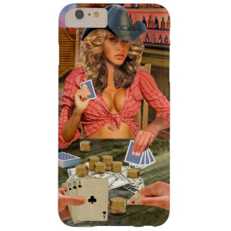 Gamblin Cowgirl Barely There iPhone 6 Plus Hülle