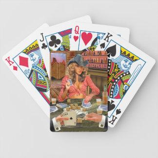 GAMBLIN COWGIRL POKERKARTEN