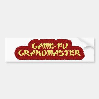 GAME-FU GRANDMASTER AUTO AUFKLEBER