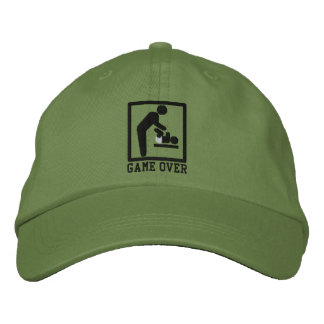 Game Over Dad Baseball Cap