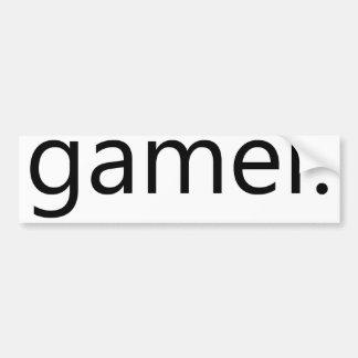 Gamer Auto Aufkleber