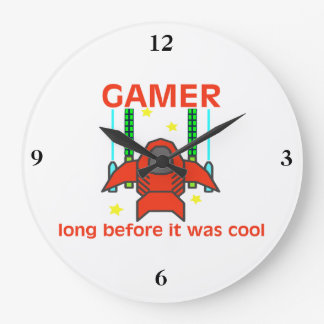 Gamer, bevor es coole Retro Art war Uhr
