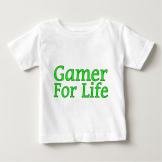 Gamer für das Leben Baby T-shirt