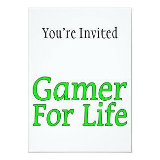 Gamer für das Leben 12,7 X 17,8 Cm Einladungskarte