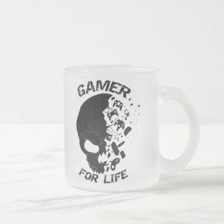 Gamer für Leben-eisige Tasse