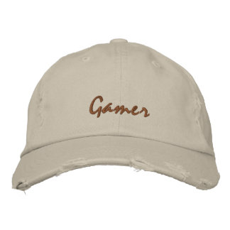 Gamer gestickte Kappe/Hut Bestickte Baseballkappe