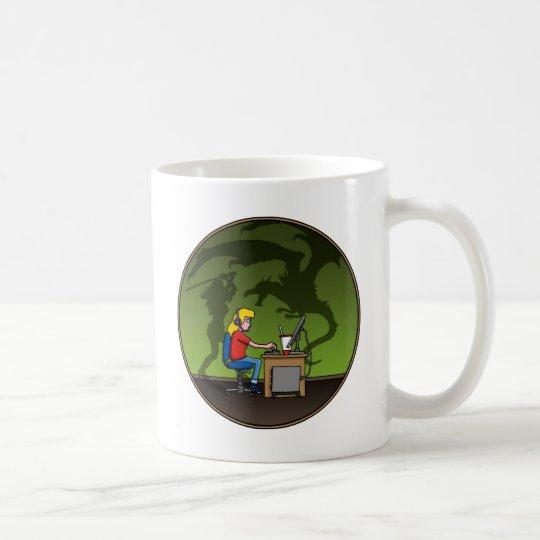 gamer girl kaffeetasse