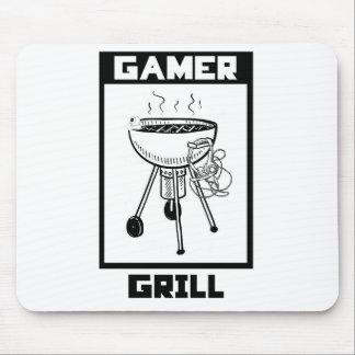 Gamer-Grill-Mausunterlage - Spiel-Zusätze Mousepad