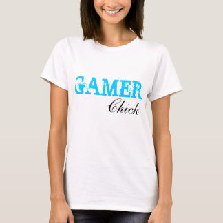 Gamer-Küken-Videospiel-Mädchengamer-Shirt T-Shirt