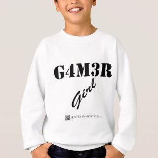 Gamer-Mädchen Sweatshirt