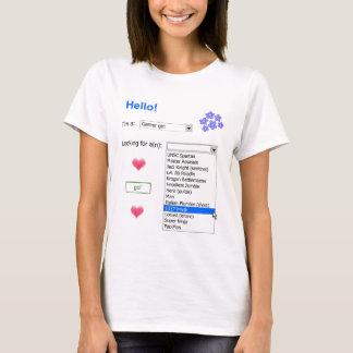 Gamer-persönliche Anzeige (1337) T-Shirt