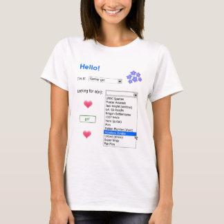 Gamer-persönliche Anzeige T-Shirt