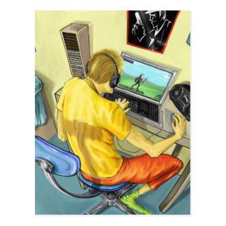 Gamer Postkarten